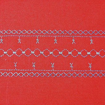Лапка Bernina №34С для реверсных строчек с прозрачной подошвой
