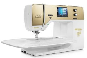 Bernina 770 QE 125 Years