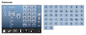шрифт кирилица