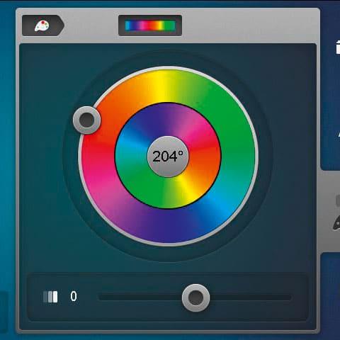 Новый цветовой круг