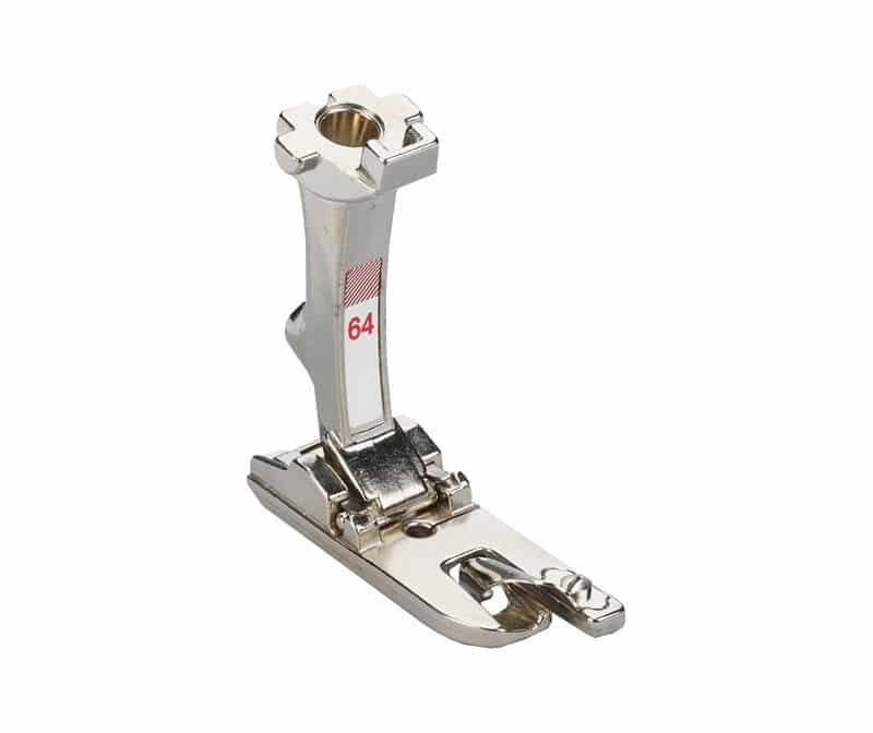 Лапка Bernina №64 - узкий подрубатель прямострочный (4 мм)