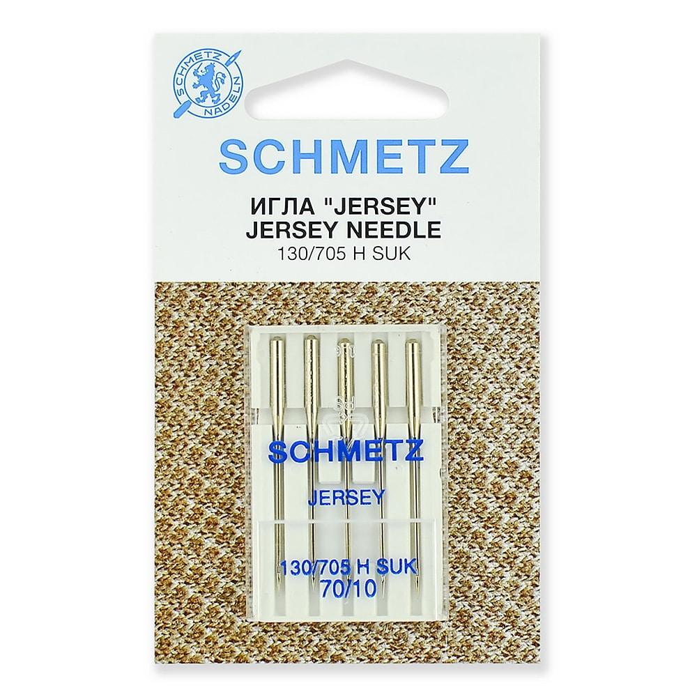 Иглы Schmetz - джерси 130/705H SUK № 70, 5 шт.