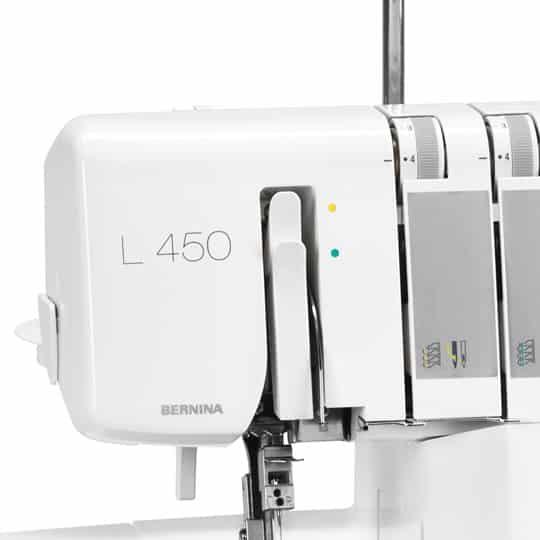 Заправка нити Bernina L450