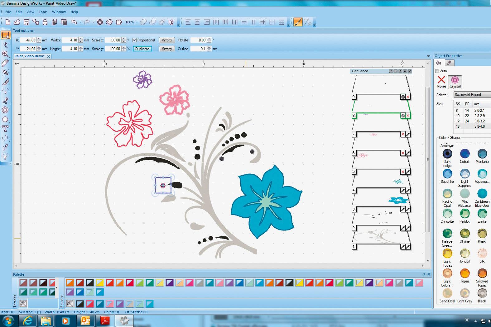 Программное обеспечение Bernina DesignWorks Software Suite